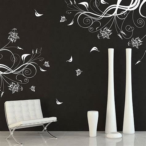 vine wall stickers butterfly and vine wall stickers by parkins interiors