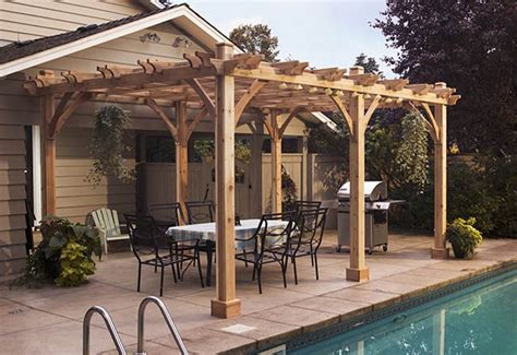 pergola kits for sale cedar wood outdoor living today