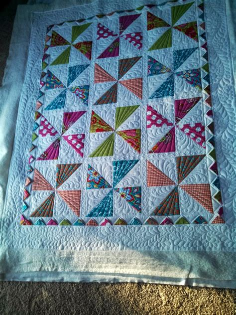 Pinwheels Quilt by Adorable Baby Quilts Pinwheels And Log Cabins Custom