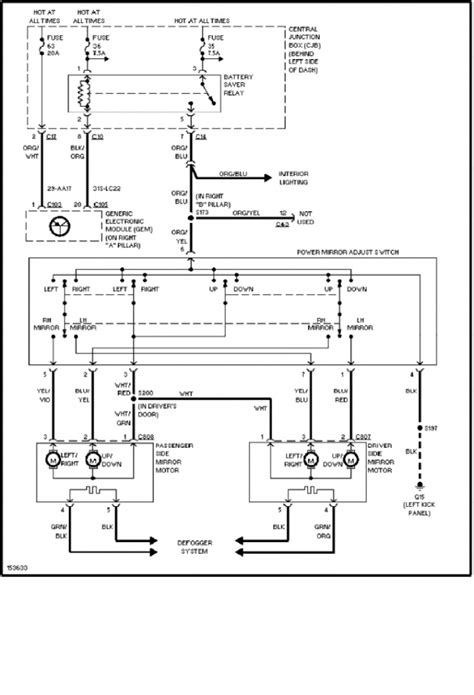 2002 ford focus wiring diagram 2002 ford focus electrical wiring diagram electrical