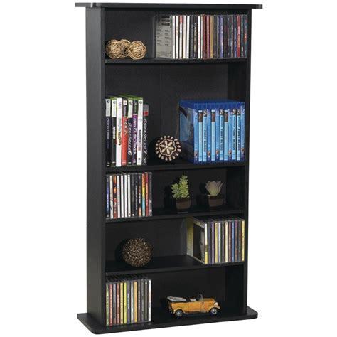 multimedia storage rack media shelf organizer dvd
