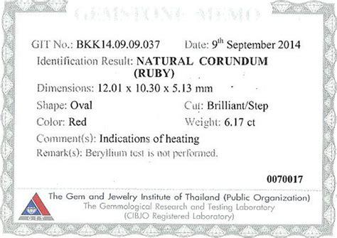 13 35 Ct Ruby Mirah Delima Memo memo rbc 131