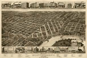 Radio In Montgomery Al Antique Map Of Montgomery Alabama By H Wellge 1887