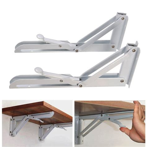 folding bench brackets aliexpress com buy mtgather 2pcs triangular folding