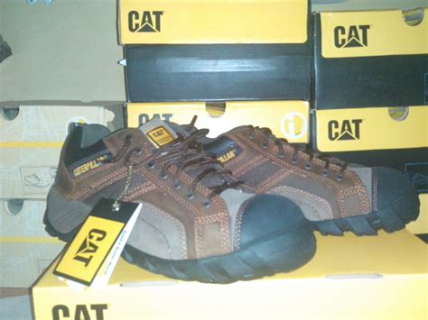 Sepatu Caterpillar Low jual sepatu safety caterpillar argon low ct brown