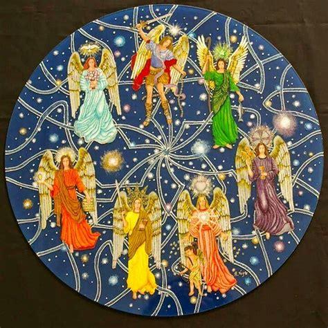 rosario de los  arcangeles magia angelica