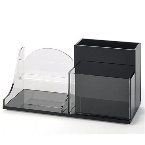 Acrylic Desk Organizer Set Wholesale Office Supplies Acrylic Desk Organizer Set For Stationary Buy Desk Organizer Set