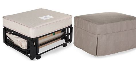 ottoman that turns into bed space saving design elements for small space living