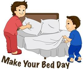 How To Make Up A Bed Boy Making Bed Clipart Clipartfest Bed Making Gif