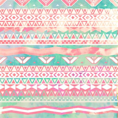 aztec pattern we heart it turquoise pink abstract aztec pattern we heart it