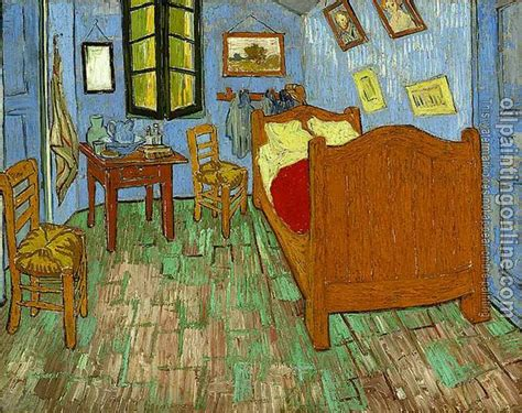 gogh vincent the bedroom canvas painting for sale