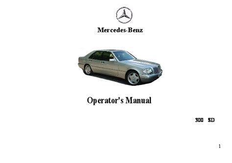 best car repair manuals 1993 mercedes benz 300sd lane departure warning 1993 mercedes benz 300sd w126 owners manual