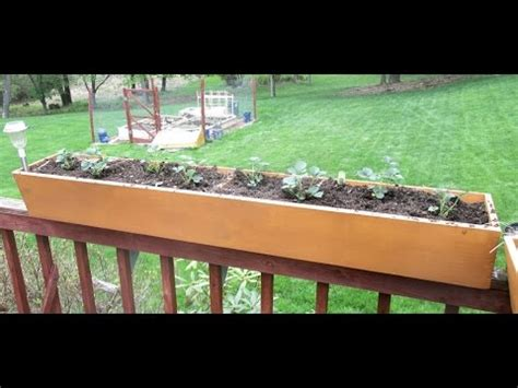 Railing Planter Box by Build Deck Railing Planter Boxes