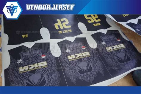 Vendor Jersey Futsal Seragam Futsal Custom Tangerang pembuatan seragam futsal printing di bekasi vendor