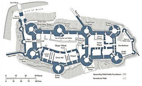 famous castle floor plans floor plan of conwy castle
