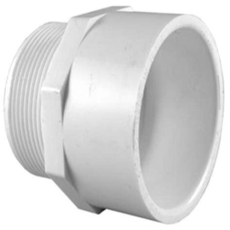 Thread Adaptor Mta 40x 1 1 2 pipe 1 2 in pvc sch 40 mpt x s adapter