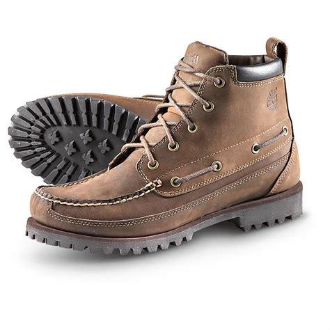 boots casual s timberland 174 5 eyelet moc toe chukka boots brown