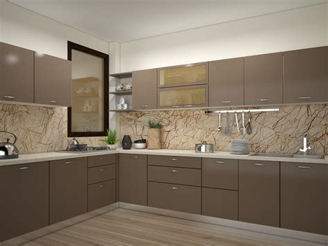 indian kitchen design indian modular kitchen design l shape