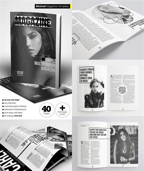 magazine template indd 17 best images about editorial design inspiration on