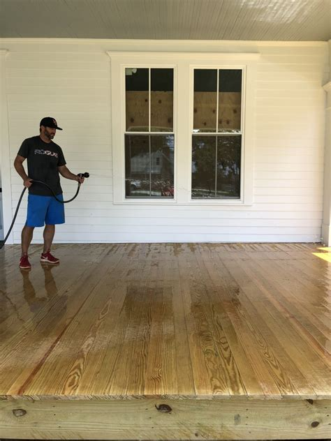 stain  porch  deck bower power