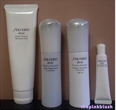 Produk Shiseido Ibuki review shiseido ibuki products gentle cleanser