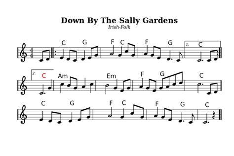 By The Sally Gardens by Benutzer Mjchael Sammlungen Liederbuch Wikibooks