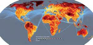World Heat Map by Where S The Remotest Place On Earth New Scientist
