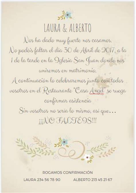 textos para las invitaciones de matrimonio las mejores invitaciones de boda 2019 bloghogar