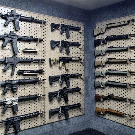 Gun Rack Designs by Top 100 Best Gun Rooms Tactical