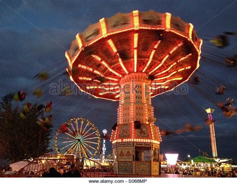 carnival swing ride state fair rides stock photos state fair rides stock