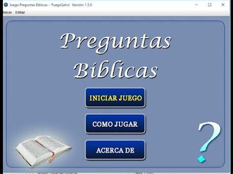 preguntas capciosas de la biblia para jovenes cristianos juego preguntas biblicas informaci 243 n youtube