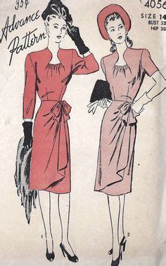 sewing pattern queen anne neckline 1940 s fashion by madamebegue on pinterest evening gowns