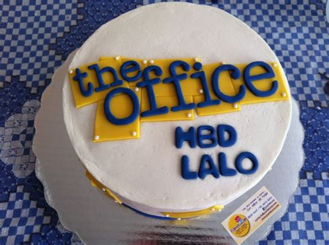 The Office Cake by The Office Tv Show Cake Planning