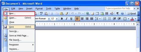 Creating A Document Tutorial Webucator - microsoft word 2003 tutorial introduction to ms word