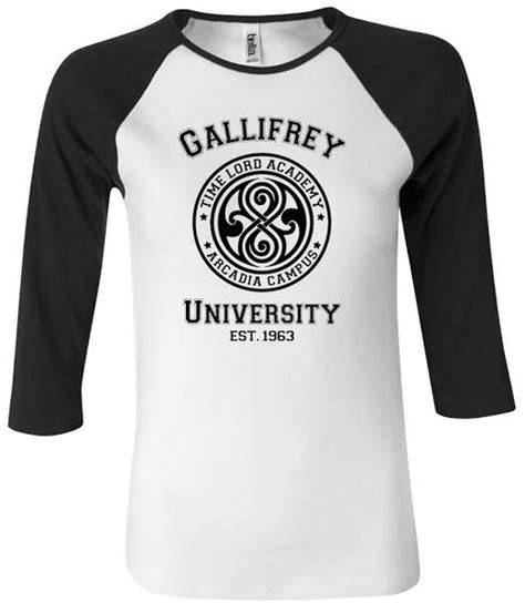 Gallifrey Shirt Doctor Who Dr T Shirt 1 doctor who t shirts gallifrey baseball merchandise guide the doctor who site