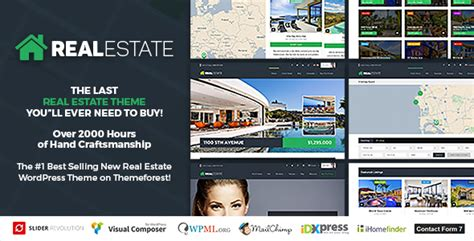 themeforest real estate themeforest wp pro real estate 7 download responsive