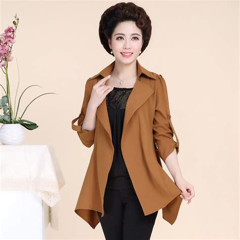 spring waredrope for middle aged women 2pcs set middle aged women s spring autumn vest coat