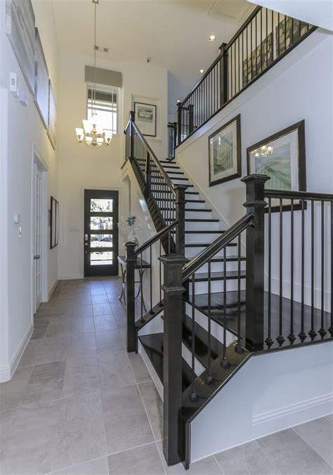 gehan home design center options gehan homes stairway black hardwood tread white risers