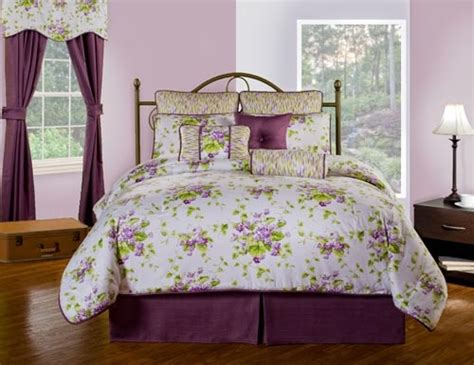 Waverly Sweet Violets Quilt Set by Sweet Violets Grand Suite Bedding Set Atlantic Linens