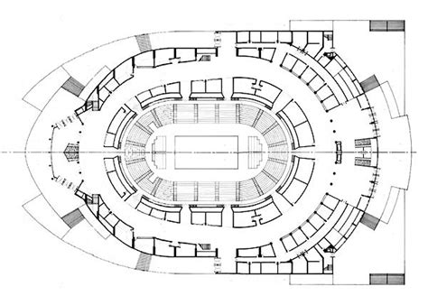 arena floor plan basketball arena