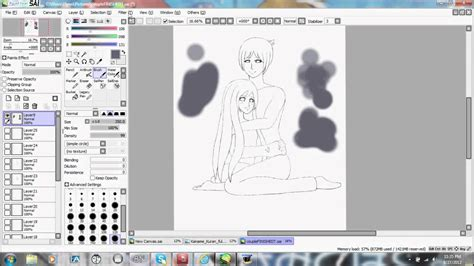 paint tool sai 2 vs 1 how to use paint tool sai