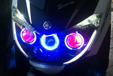 Led Nmax lu projector led buat yamaha nmax autos id