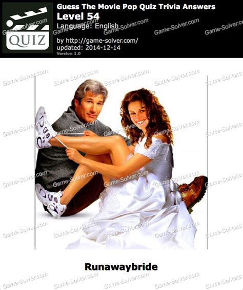 Film Quiz Level 54 | guess the movie pop quiz trivia level 54 game solver