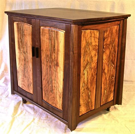 Small Credenza Cabinet custom small credenza storage cabinet by louis fry craftsman in wood custommade