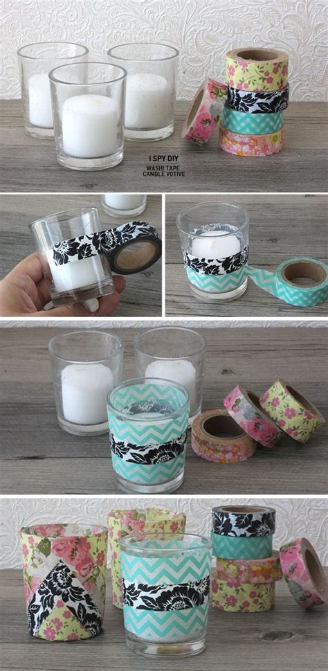 diy washi washi tape diy projects decorating your small space