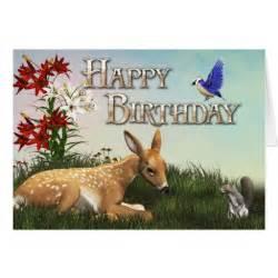 animal happy birthday card zazzle