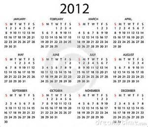 calendar template 2012 2012 calendar template stock photos image 21869123