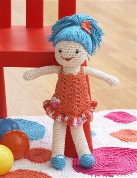 pattern for yarn doll lily lily doll crochet pattern yarnspirations