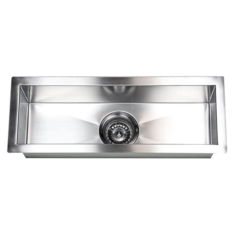 23 inch stainless steel undermount single bowl kitchen