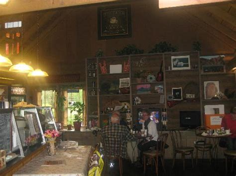 indoor cafe area picture of the cabin cafe gatlinburg